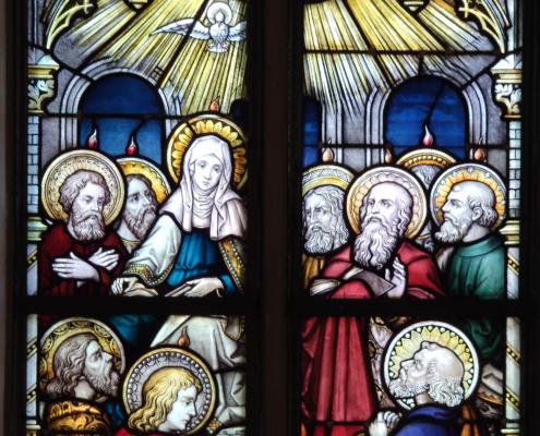 Pfingstbild in St. Anton